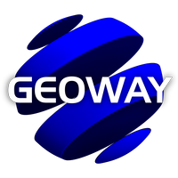 Geoway Kft. Traffic control at top level logo